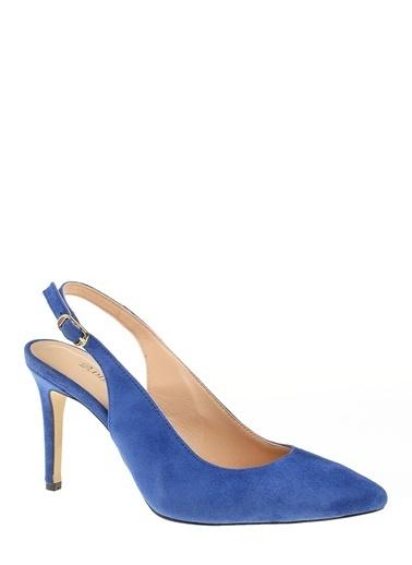 D by Divarese %100 Deri Klasik Ayakkabı Saks